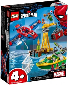 LEGO 76134 Spider-Man Doctor Octopus - skok na diamenty