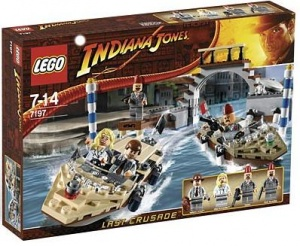 Klocki Lego Indiana Jones 7197 Pościg W Wenecji Httpbricktoyspl