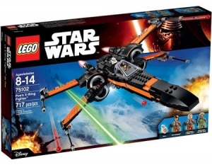 LEGO 75102 Star Wars Poe's X-Wing Starfighter