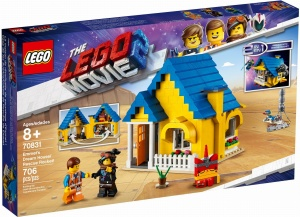 LEGO 70831 The LEGO Movie 2 Dom Emmeta/Rakieta ratunkowa
