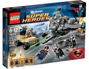 LEGO 76003 Super Heroes Superman: Battle of Smallville