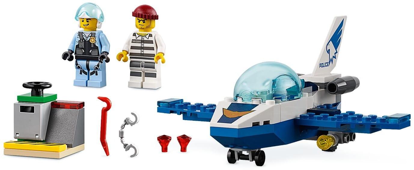 Klocki Lego 60206 City Policyjny Patrol Powietrzny Httpbricktoyspl