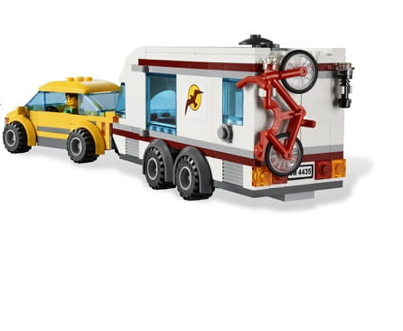 Klocki Lego City 4435 Samochód Z Przyczepą Kempingową Http