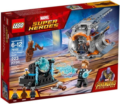 Klocki Lego 76102 Super Heroes Poszukiwanie Broni Thora Http